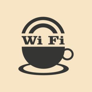 Wi Fi cafe