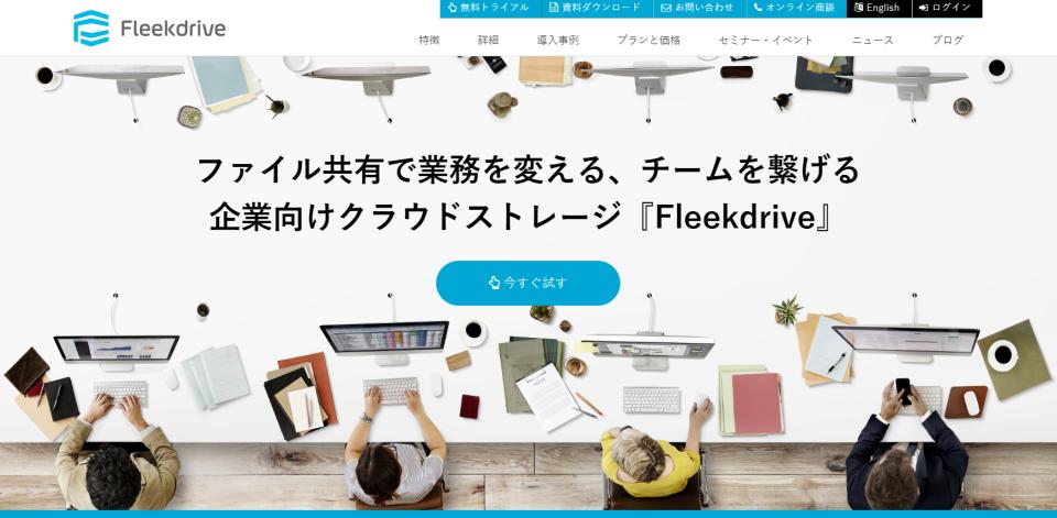fleekdrive site_mini